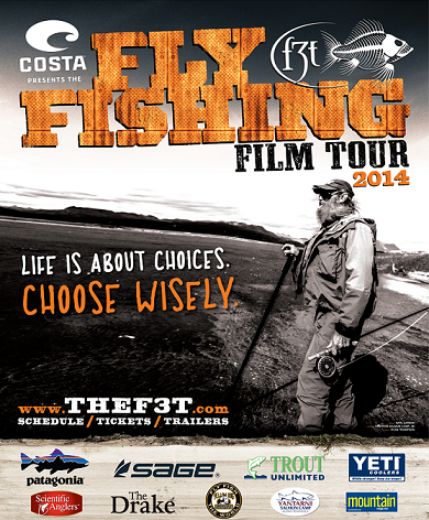 Fly Fishing Film Tour 2014 - April 18th at 7pm